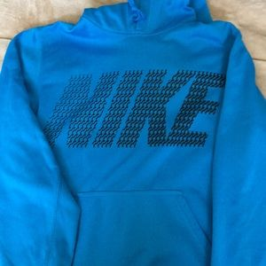 Teal Nike hoodie size small